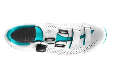 fizik chaussures route r4b blanc bleu femme 39