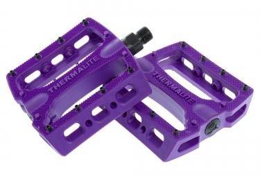 STOLEN Pédales THERMALITE Plastique Picots Acier Violet