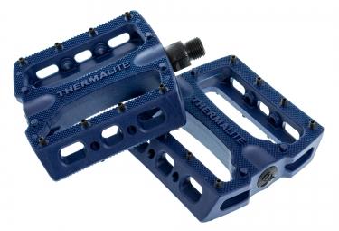 STOLEN Pédales THERMALITE Plastique Picots Acier Bleu