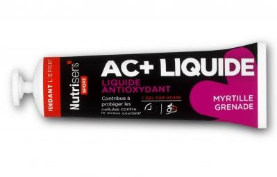 NUTRISENS Gel énergétique AC+ LIQUIDE Myrtille Grenade 35g