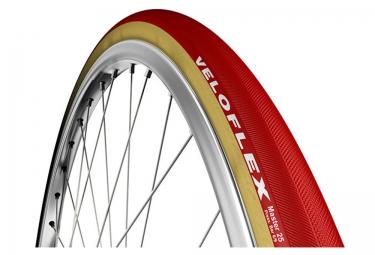 pneu veloflex master beige rouge 25 mm