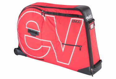 evoc sac velo bike travel bag 280l rouge
