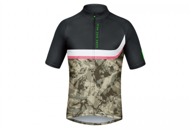 Gore bike wear maillot power trail noir camo s