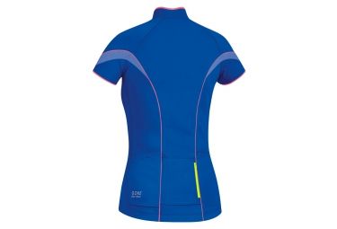gore bike wear maillot power 3 0 bleu femme m