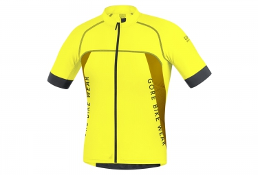 Image of Gore bike wear maillot alp x pro jaune s