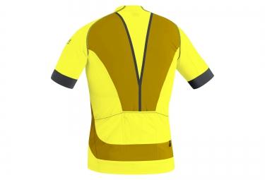 gore bike wear maillot alp x pro jaune xl