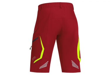 GORE BIKE WEAR Short ELEMENT Rouge