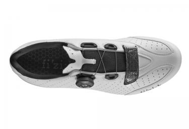 fizik chaussures route r3b uomo blanc noir 43
