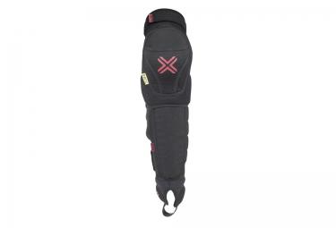 fuse genouilleres avec protege tibia delta 125 noir enfant