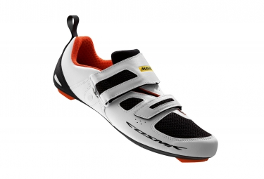 chaussures triathlon mavic cosmic tri elite 2016 blanc 47 1 3
