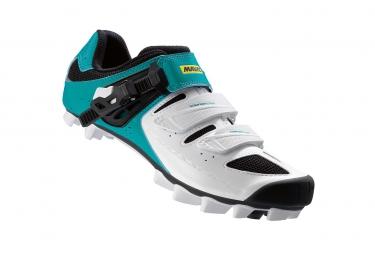 MTB Schuhe MAVIC Crossride SL Elite - Damen - Weiß/Blau