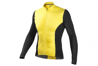 mavic maillot manches longues cxr ultimate jaune s