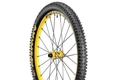 MAVIC Roue Avant CROSSMAX ENDURO 26'' | Axes 15x100mm - 20x110mm | Pneu Charge 2.40''