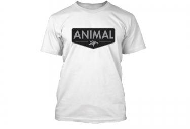 T-Shirt Animal Emblem Blanc