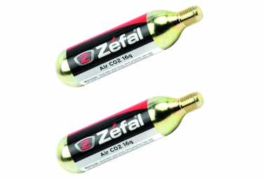 ZEFAL Cartouche Filetée CO2 16g (X2)