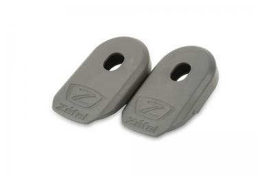 Zefal protections de manivelles crank armor gris