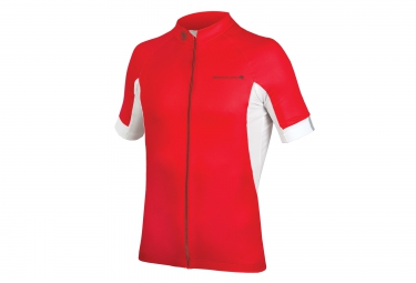 maillot manches courtes endura fs260 pro iii rouge s