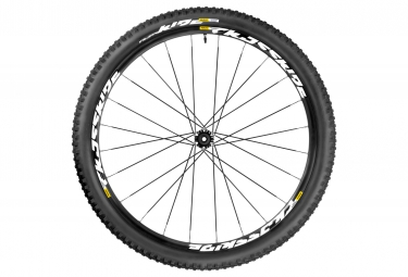 mavic 2016 roue avant crossride light 26 axe 15x100mm pneu quest 2 25