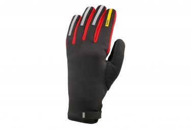 mavic paire de gants aksium thermo noir rouge s