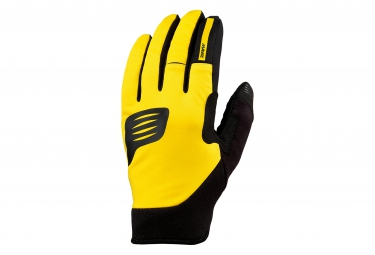 mavic paire de gants crossmax thermo jaune s