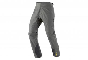 mavic pantalon impermeable crossmax ultimate h2o gris s