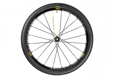 mavic 2016 roue avant crossmax sl pro wts 27 5 axe lefty supermax noir pneu crossmax pulse 2 10