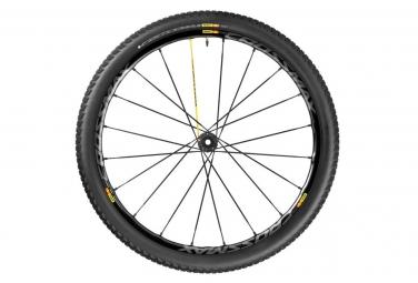 mavic 2016 roue avant crossmax sl pro wts 27 5 axe lefty supermax noir pneu crossmax