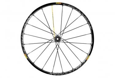 mavic roue avant crossmax sl pro 27 5 noir axe 15x100mm 9x100mm qr
