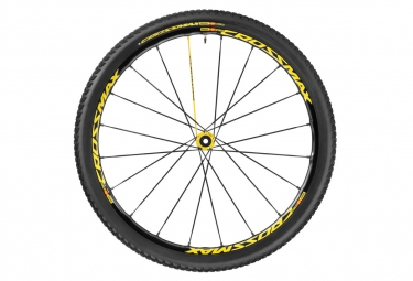 mavic 2016 roue avant crossmax sl pro ltd wts 27 5 axe 15x100mm 9x100mm pneu crossmax pulse 2 10