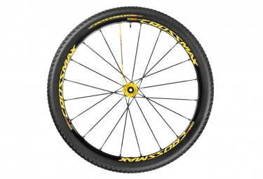 mavic crossmax sl pro ltd roue arriere 27 5 6tr 9x135mm pneu crossmax pulse 2 10 sra