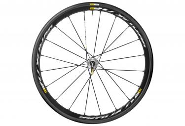 mavic roue arriere ksyrium pro disc campagnolo pneus yksion pro 25mm 6 trous