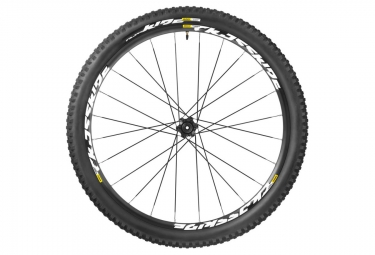 mavic roue avant crossride light wts 27 5 axe 15x100mm pneu crossride quest 2 25