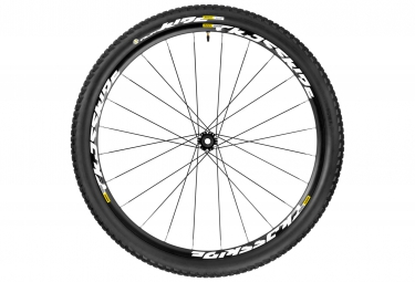 mavic roue avant crossride ust 27 5 wts axe 15x100mm pneu pulse 2 10