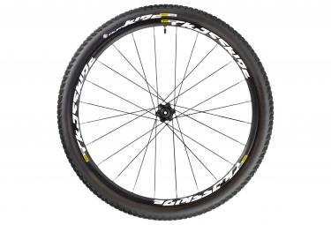 mavic roue arriere crossride ust wts 27 5 noir axe 142x12mm corps de roue libre shimano pneu pulse 2 10