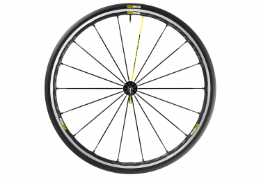 mavic roue avant ksyrium pro noir pneu yksion pro 25 mm