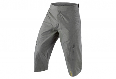 mavic short impermeable crossmax ultimate h2o gris m