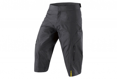 MAVIC Short imperméable Crossmax Ultimate H2o Noir