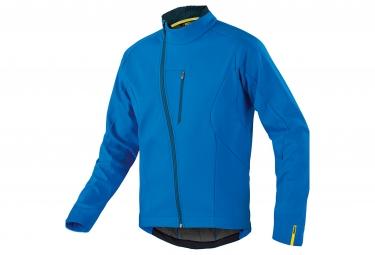 mavic 2016 veste coupe vent aksium thermo bleu s