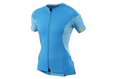 mavic maillot femme cosmic pro bleu xs