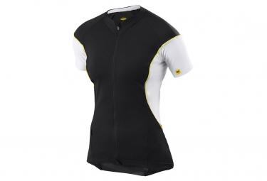 mavic 2015 maillot femme cosmic pro noir blanc xl