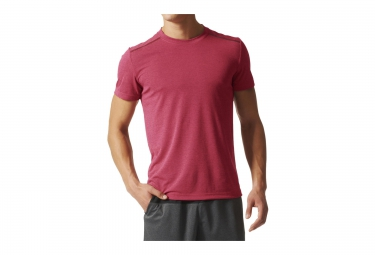 adidas maillot manches courtes climachill rouge xl