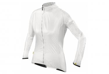 mavic veste coupe vent femme oxygen blanc l