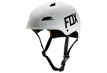 casque bol fox flight hardshell blanc l 59 61 cm
