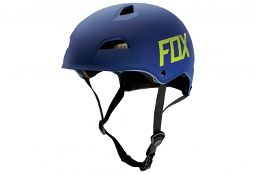 casque bol fox flight hardshell bleu s 52 54 cm