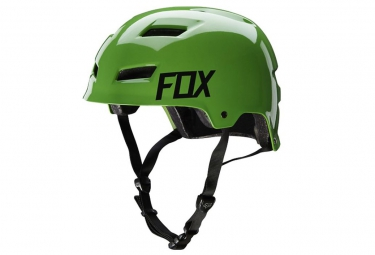 Casque Bol FOX TRANSITION HARDSHELL Vert