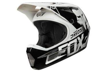 Casque fox rampage comp union blanc xxl 62 63 cm