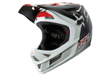 Casco Integral Fox RAMPAGE PRO CARBON Blanc / Rouge