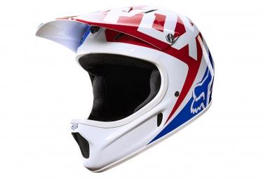 Casque Fox RAMPAGE RACE Blanc