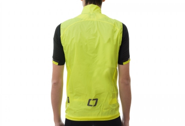 isano veste sans manches is wind jaune fluo xs