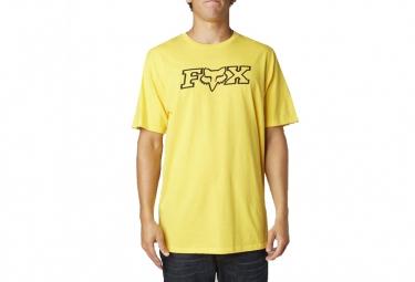 FOX T-Shirt LEGACY Jaune